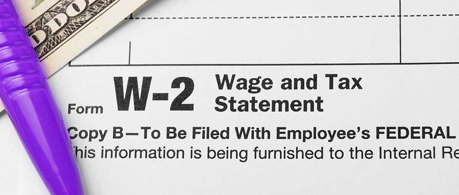 Getting Your W-2