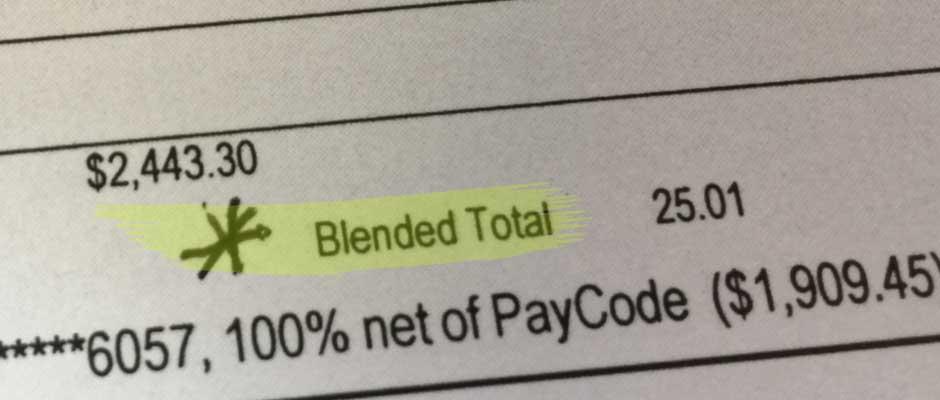 Blended Total