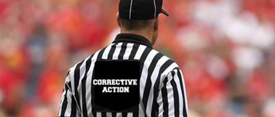 Basics of Correction Action