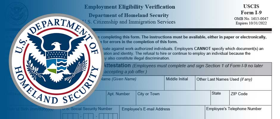 New I-9 Form Required